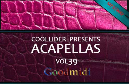 Coollider presents干声素材 vol39