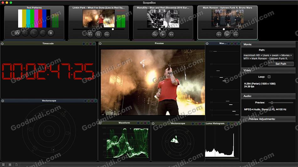 视频预览监视软件:ScopeBox 3.5.4
