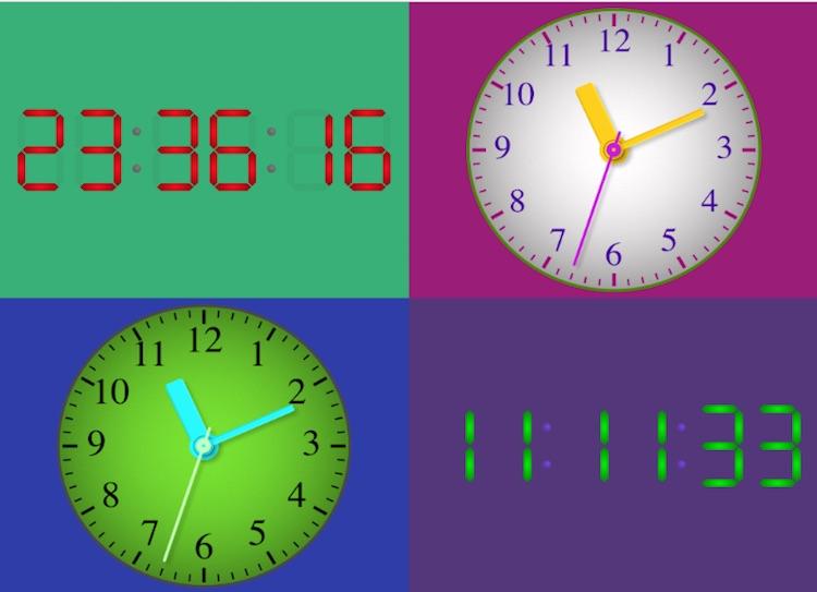 Mapio Clock