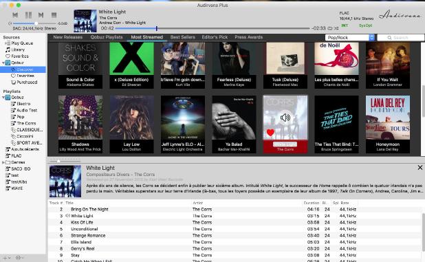 MacOS发烧音乐播放器:Audirvana Plus 3.2.2