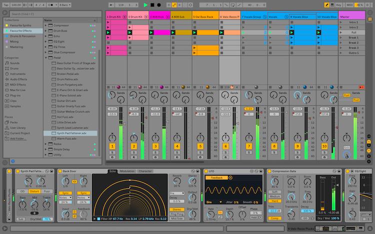 Ableton Live 10 Suite 10.1.3 Mac