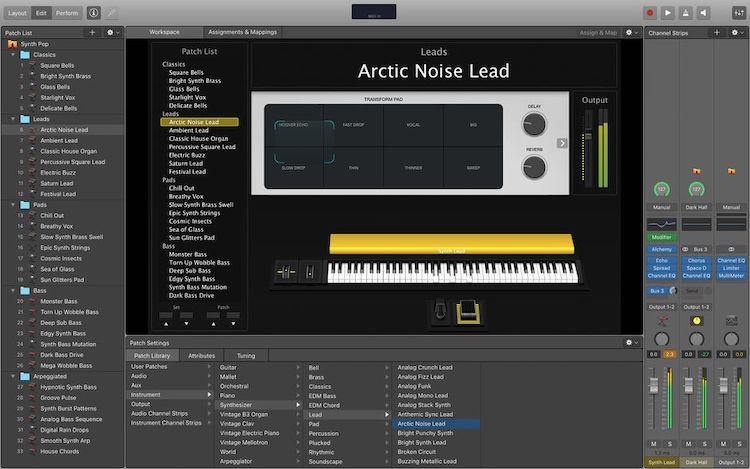 舞台音效管理软件:Apple MainStage 3.4.3