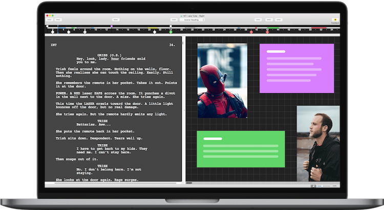 编剧软件:Final Draft 11.0.2 Mac版