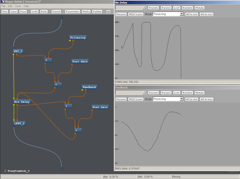 模块化音频软件:Plogue Bidule v0.9767